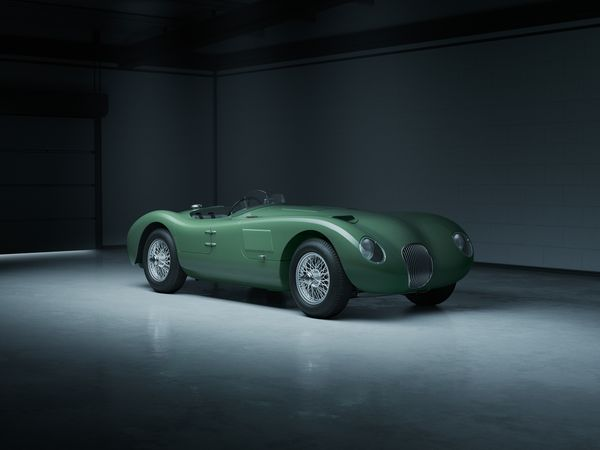 Jaguar C-Type- 03